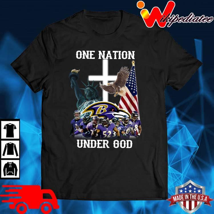 Baltimore Ravens One Nation Under God Shirt