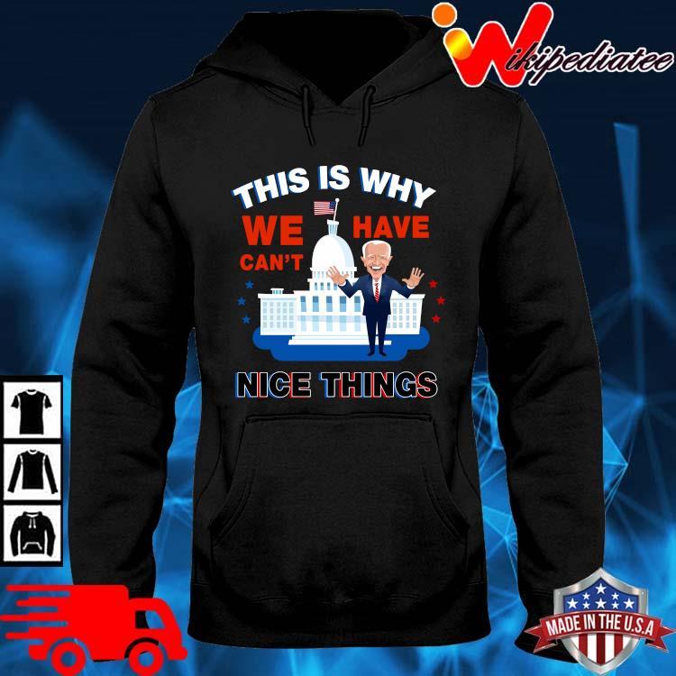 Joe Biden this is why we have can't nice things hoodie den