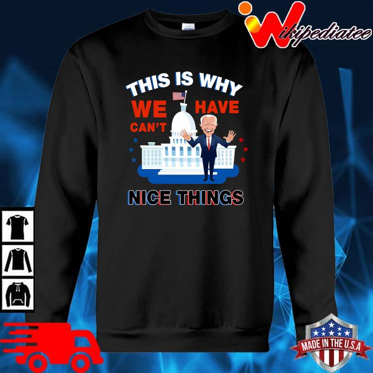 Joe Biden this is why we have can't nice things sweater den
