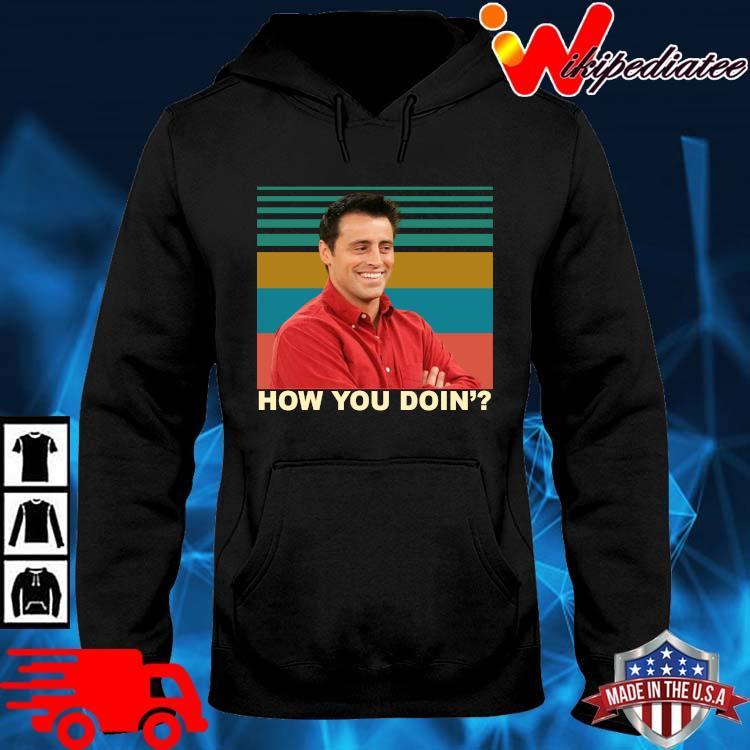 Joey how you doin' vintage hoodie den