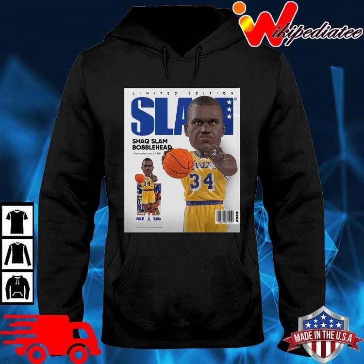Limited Edition Slam Shaq Slam Bobblehead Shirt hoodie den