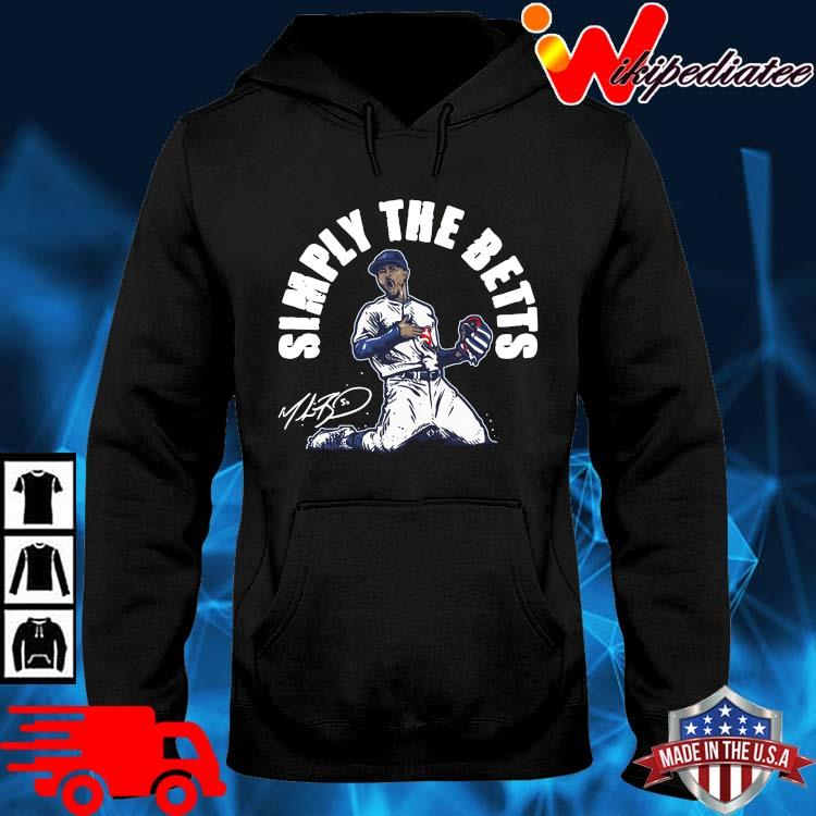 Mookie Betts simply the betts signature hoodie den