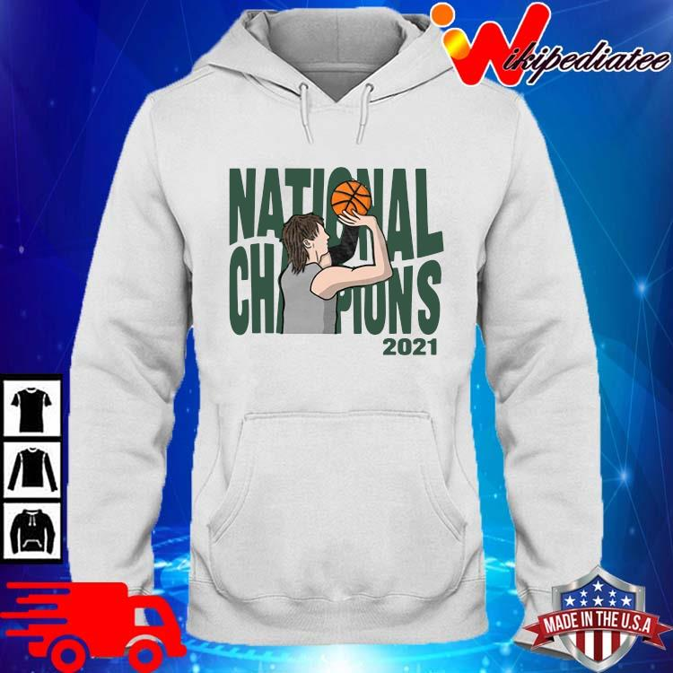 National Champions 2021 Basketball Shirt hoodie trang