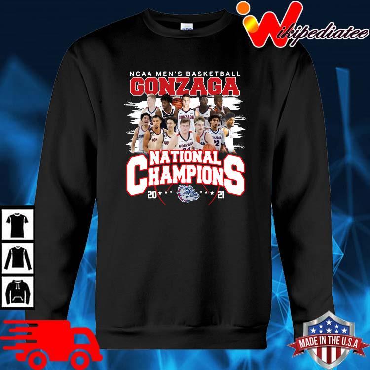 Ncaa men's basketball Gonzaga Bulldogs national champions 2021 sweater den