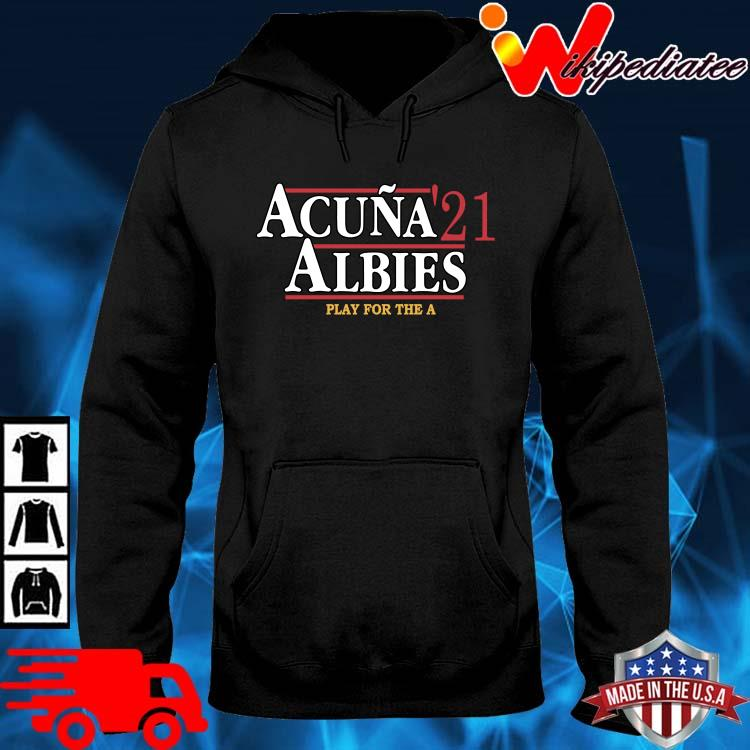 Official acuna '21 albies play for the a hoodie den