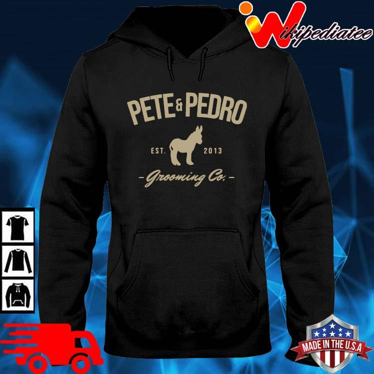 Pete and pedro est 2013 grooming co hoodie den
