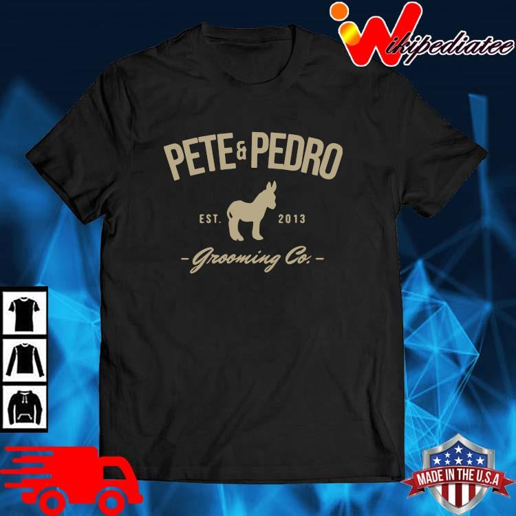 Pete and pedro est 2013 grooming co shirt