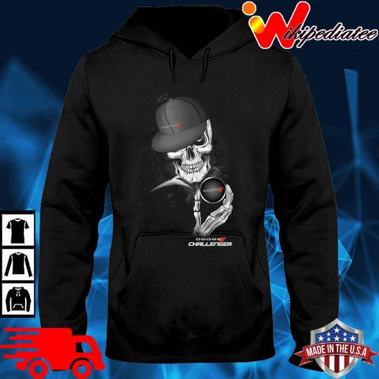 Skeleton Dodge Challenger Shirt hoodie den