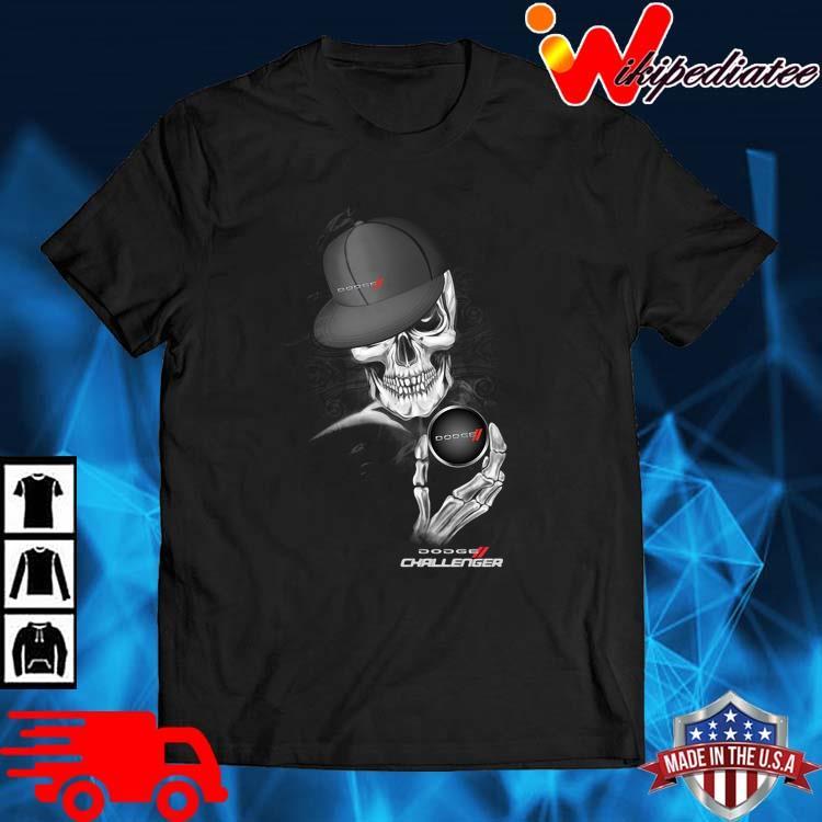 Skeleton Dodge Challenger Shirt