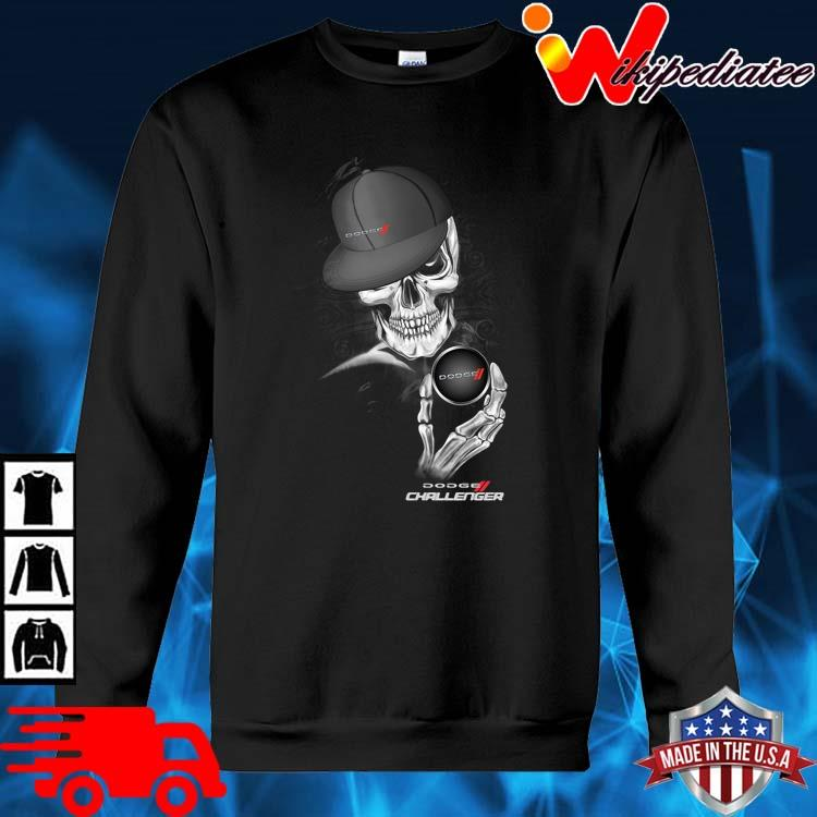 Skeleton Dodge Challenger Shirt sweater den