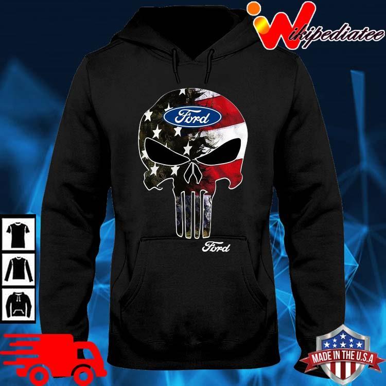 Skull Ford Logo Shirt hoodie den