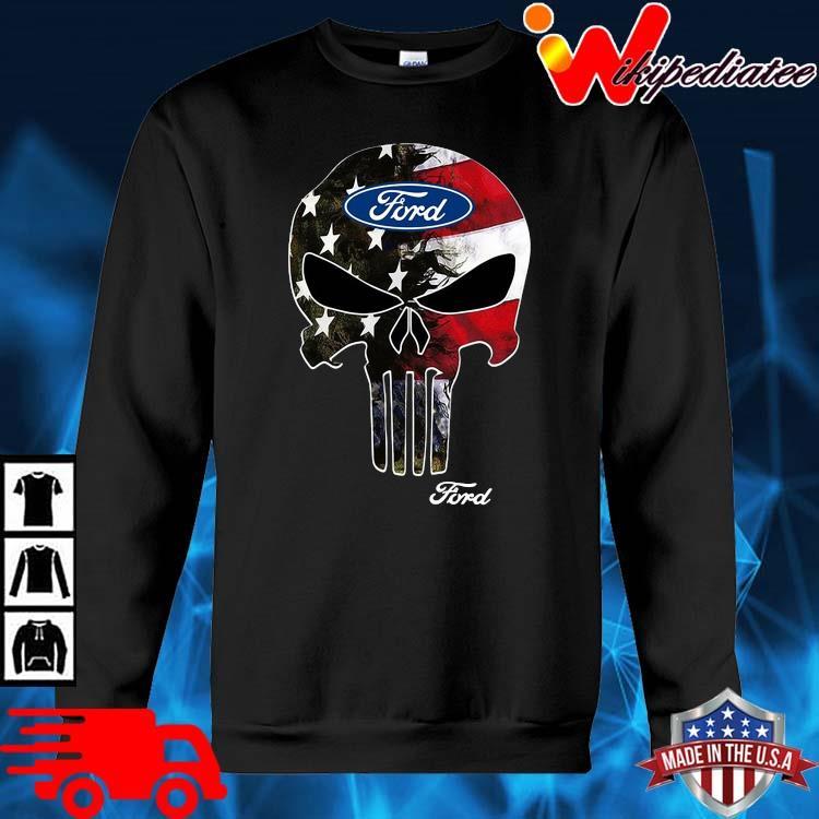Skull Ford Logo Shirt sweater den