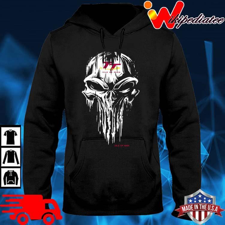 Skull Isle Of Man Logo Shirt hoodie den