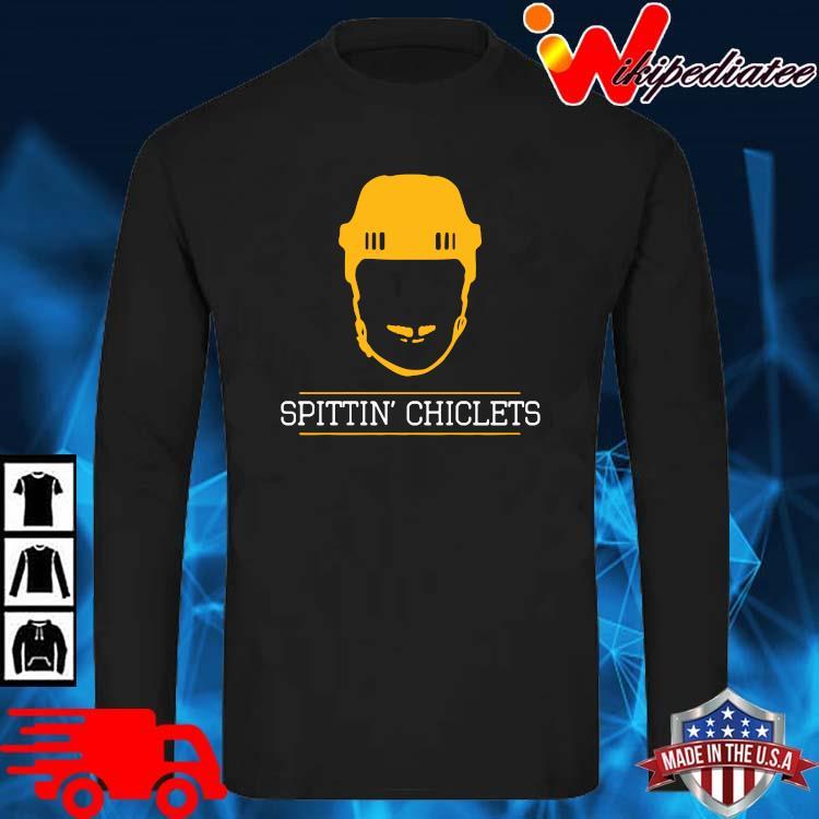 Spittin Chiclets Podcast Shirt long sleve den